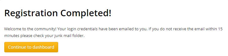 Image of a renewal confirmation screen.